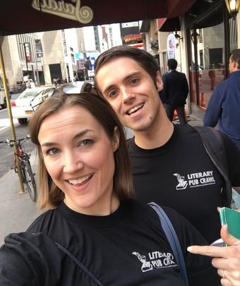 Times Square Literary Pub Crawl