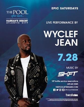 Epic Saturdays featuring Wyclef Jean