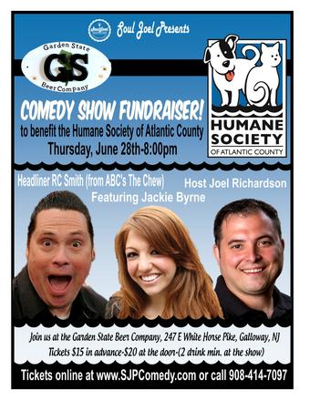 Galloway: Human Society of AC Comedy Fundraiser