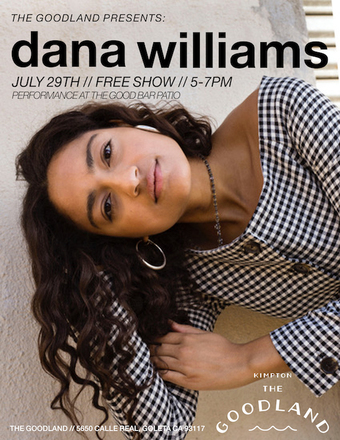 The Goodland Presents: Dana Williams
