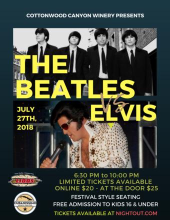 The Beatles vs Elvis a Rock & Roll Night