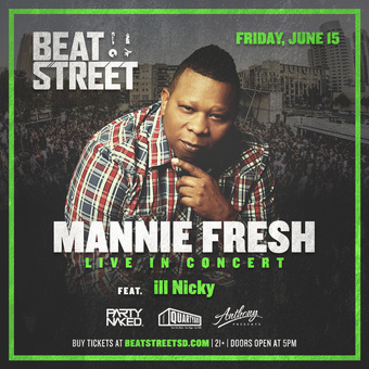 Beat Street with Mannie Fresh