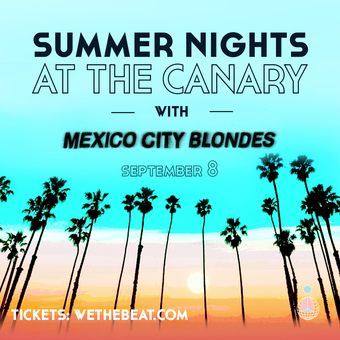 Summer Nights at The Canary - September 8