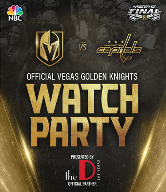 Game 4- Vegas Golden Knights Watch Party
