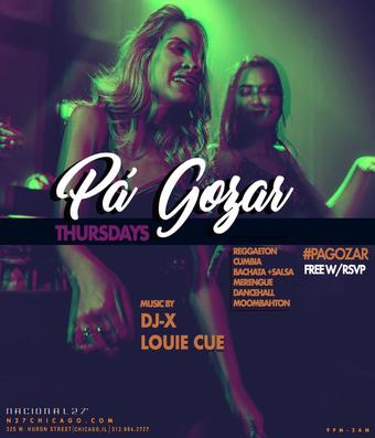 Pa' Gozar - DJ-X & Louie Cue