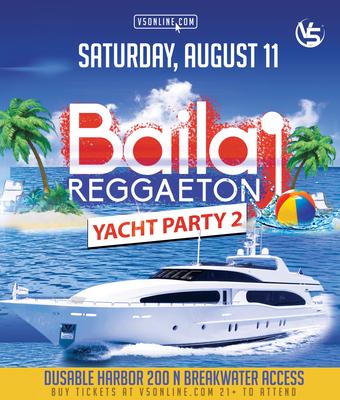 Baila Reggaeton Day Cruise