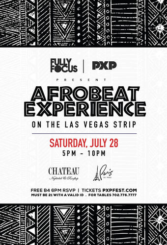 Afrobeat Experience Las Vegas Day Party