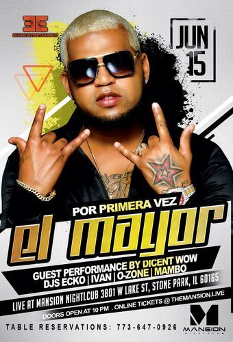 TICKETS AVAILABLE AT THE DOOR - El Mayor Clasico at Mansion Nightclub