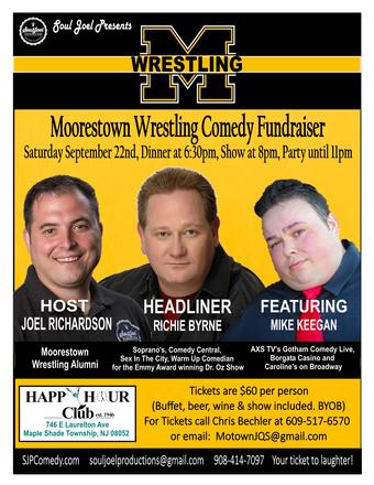 Moorestown Wrestling Comedy Fundraiser