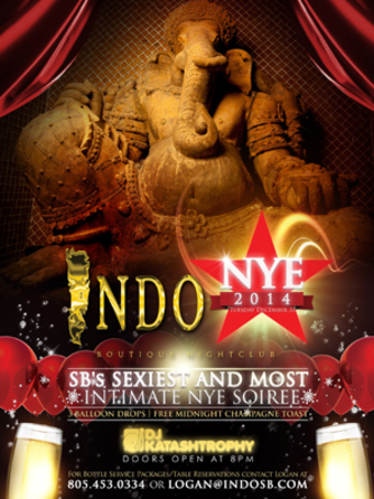 New Year's Eve Celebration at Indochine Boutique Nightclub