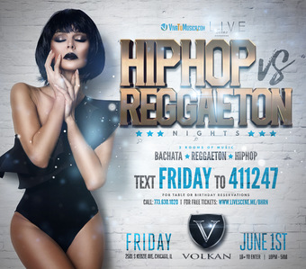 HipHop vs Reggaeton Nights (18+)