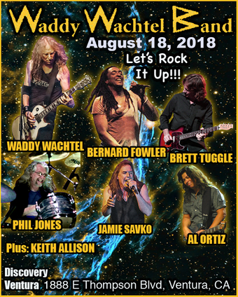 WADDY WACHTEL BAND at Discovery Ventura
