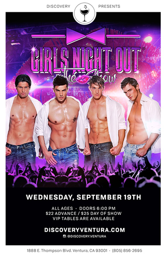 Girls Night Out, The Show at Discover Ventura