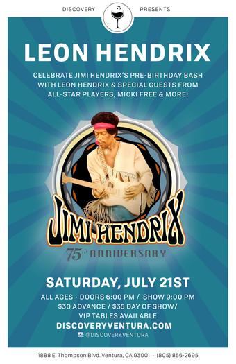 Leon Hendrix at Discovery Ventura