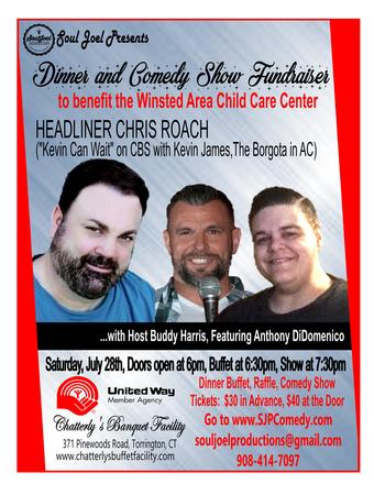 Dinner & Comedy Show Fundraiser