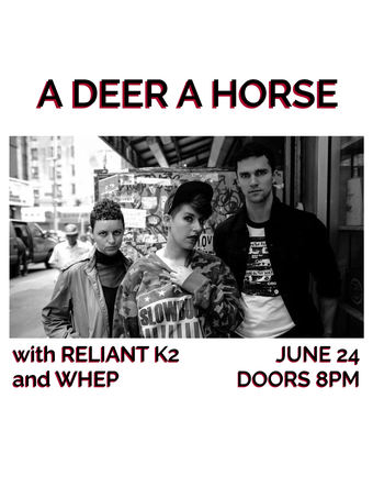 A Deer A Horse with Reliant K2 and Whep