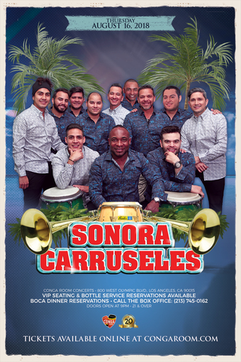 Conga Room presents Sonora Carruseles