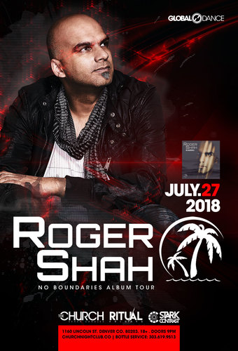 Roger Shah No Boundaries Album Tour