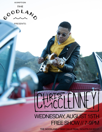 The Goodland Presents: Chris McClenney