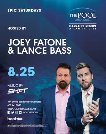 Epic Saturdays featuring Lance Bass & Joey Fatone