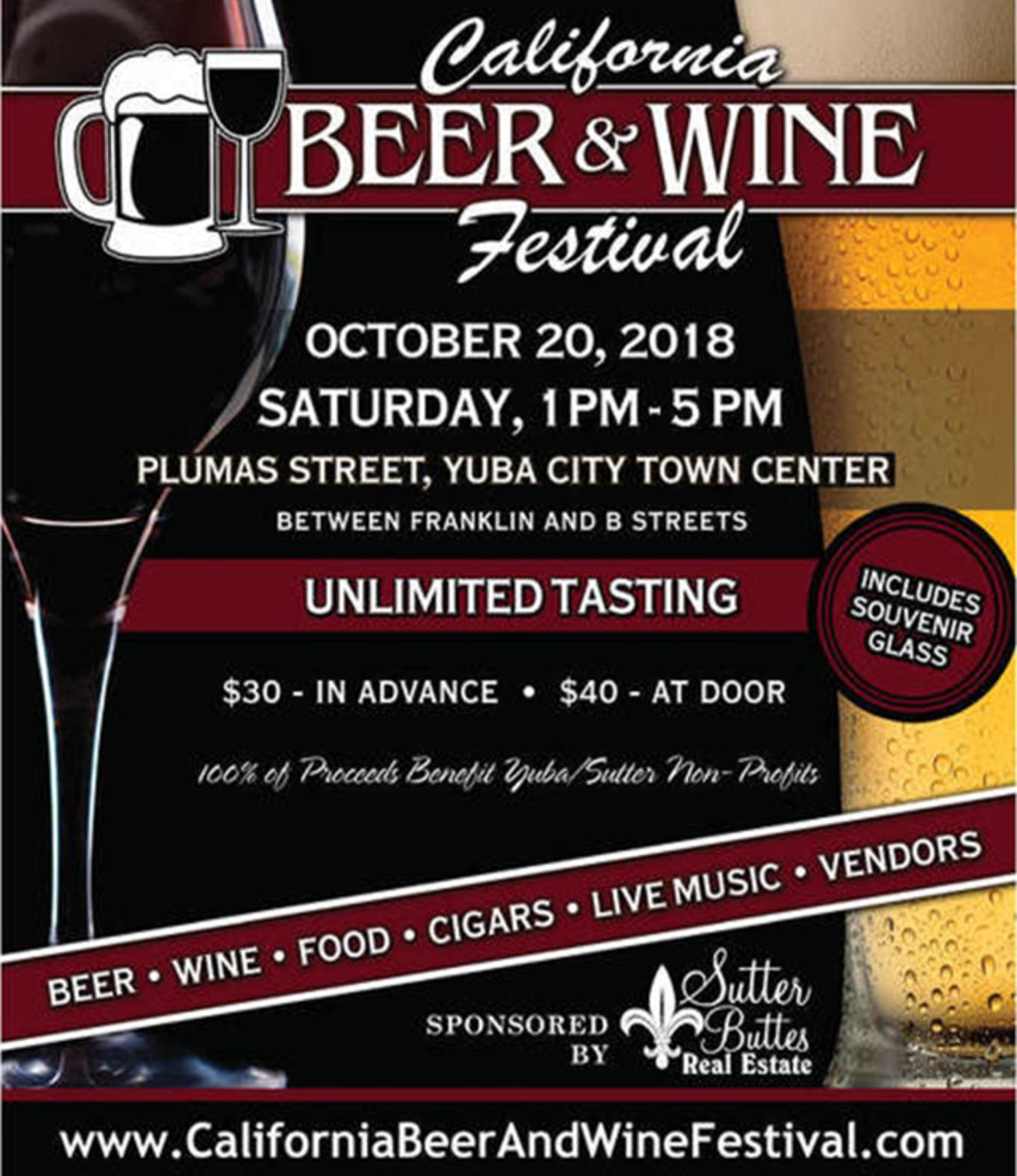 California Beer & Wine Festival - Tickets - Yuba City Town