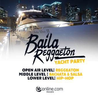Bachata & Reggeaton Yacht Party