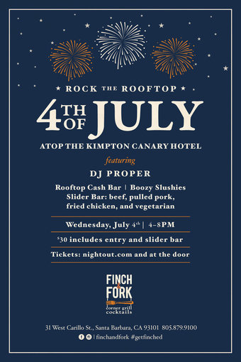 Rock the Rooftop Fourth of July