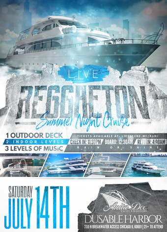 Reggaeton Summer Night Cruise