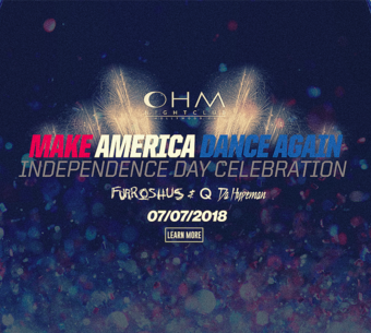 CLUB DV8's Make America Dance Again - Independence Day Celebration