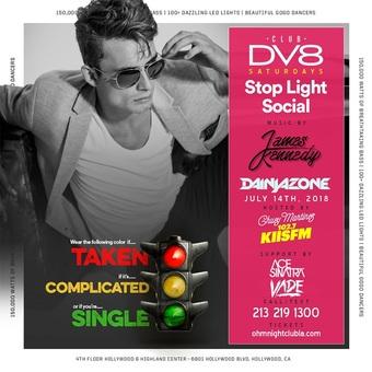 CLUB DV8's Stoplight Social w/ DJ Dainjazone