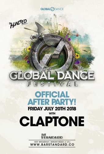 Global Dance Festival Official After Party at Bar Standard: Claptone