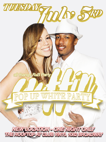 Cuffin' Pop-Up Rooftop White Party