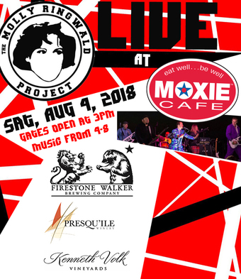MOXIE Cafe Presents the Molly Ringwald Project