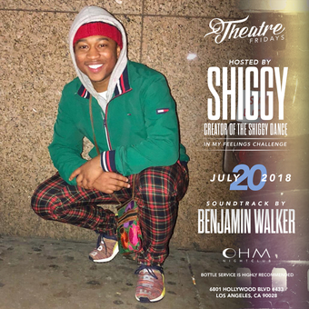 Theater Fridays hosted by @TheShiggyShow