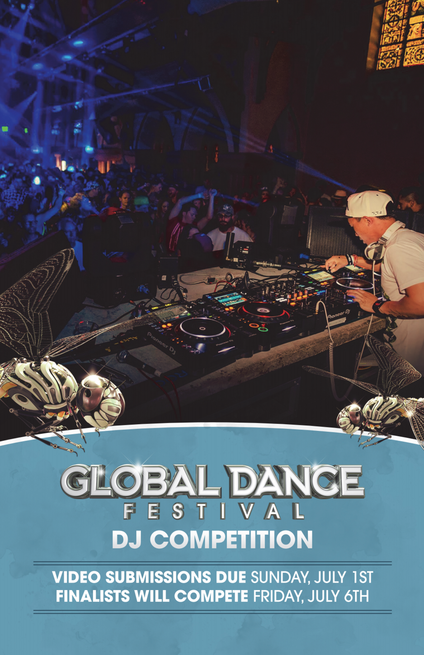 Global Dance Festival DJ Competition - Tickets - The Church