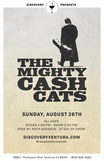 Mighty Cash Cats - Tribute to Johnny Cash at Discovery Ventura
