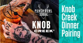 Knob Creek Dinner Pairing
