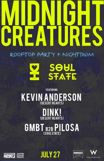 Midnight Creatures feat. Kevin Anderson, Dink!, GMBT