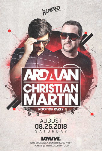 Christian Martin b2b Ardalan Rooftop Party