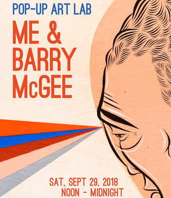 Pop-Up Art Lab | Me & Barry McGee