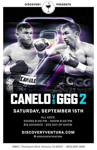 Canelo vs GGG2 at Discovery Ventura