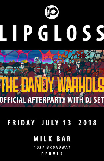 Dandy Warhols Official Afterparty DJ Set