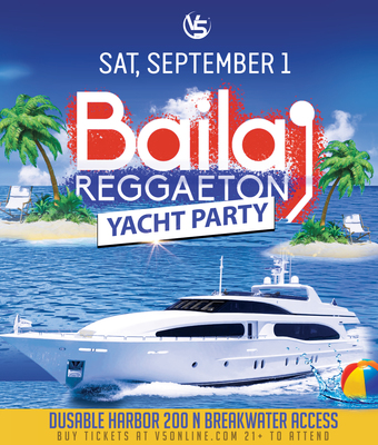 Baila Reggaeton Day Yacht Party
