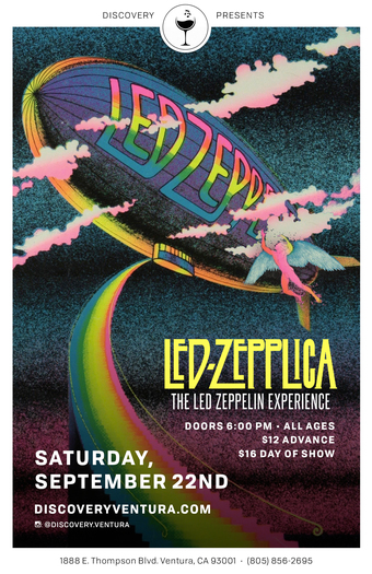 Led Zepplica - Tribute to Led Zepplin at Discovery Ventura