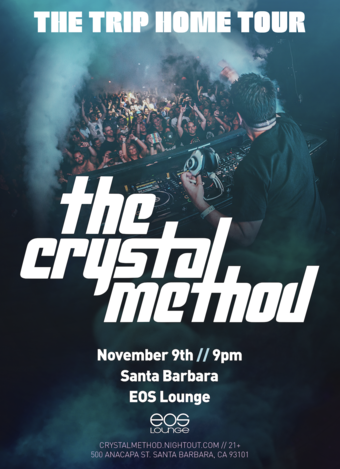 The Crystal Method at EOS Lounge 11.9.18