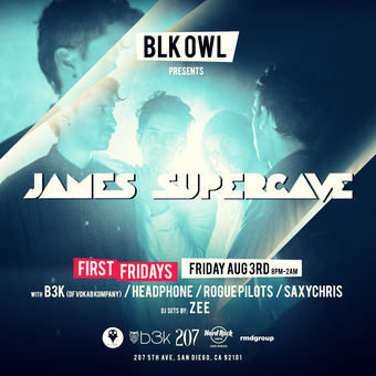 James Supercave, B3K, Headphone, The Rogue Pilots and Z E E