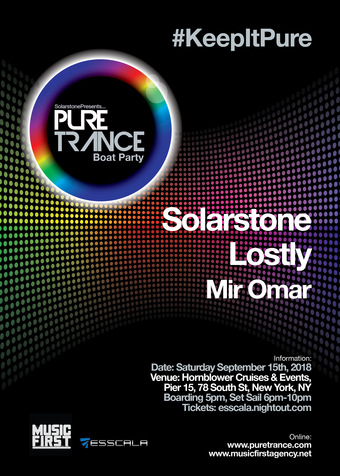 SOLARSTONE Presents PURE TRANCE Boat Party