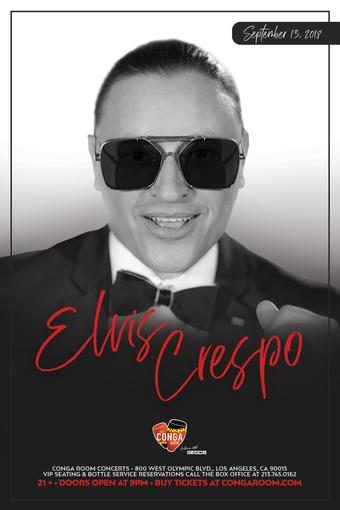 Conga Room presents Elvis Crespo