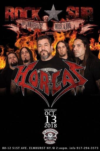 Rock Sur 10th Anniversary w/ HORCAS