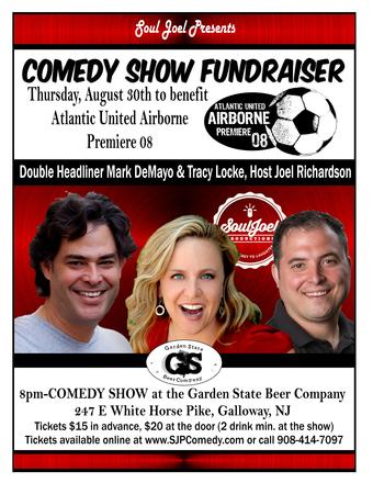 Galloway: Atlantic United Airborne 08 Comedy Show Fundraiser